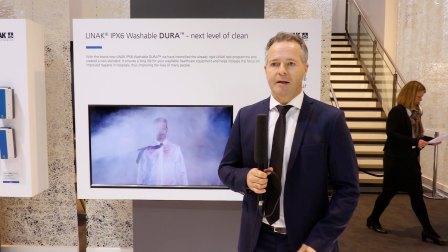 力纳克医护系列——树立新一代的防水标准IPX6 Washable DURA™