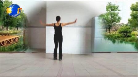 益馨广场舞《天下最美》原创健身舞32步附教学口令
