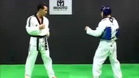 跆拳道教学-13Taekwondo- Tecnica de combate vol.3-4 'strategy'_高清