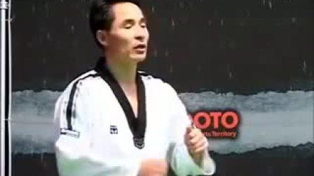 跆拳道教学-14Taekwondo- Tecnica de combate vol.4-4 'real competition strategy'_高清