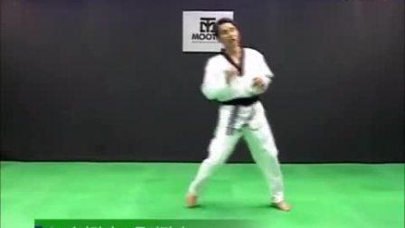 跆拳道教学-12Taekwondo- Tecnica de combate vol.2-4 'step & feint motion'_HIGH_高清