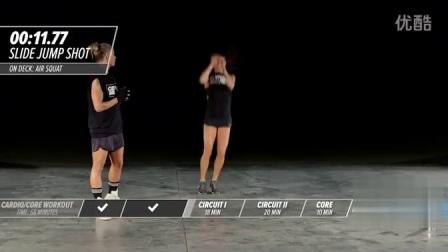 【Ashley Conrad's 247健身计划】家庭有氧核心训练-第十九天_高清