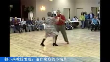 老外夫妻跳舞 老人健康