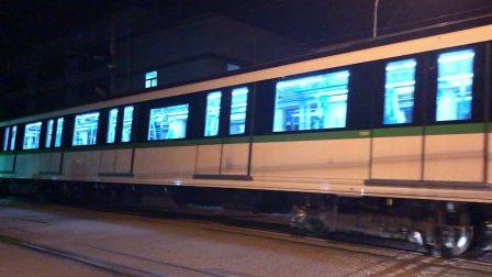 上海地铁二号线四改八0274中速试车