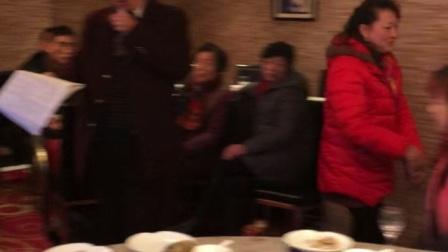 林智勇先生83寿诞,闽剧联欢活动,林智勇、郑振榕对唱