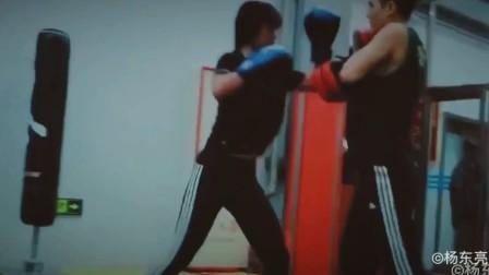北京大兴区泰拳训练课。美女第一次打泰拳