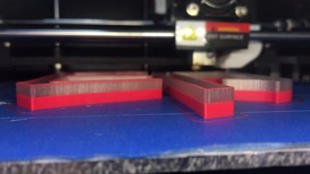 发光字3d打印机打印过程