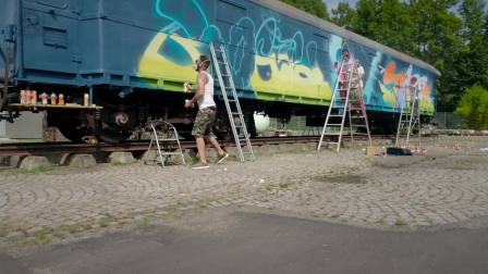 MOLOTOW™ Train - BOOGIE, MR.CENZ & TASTE