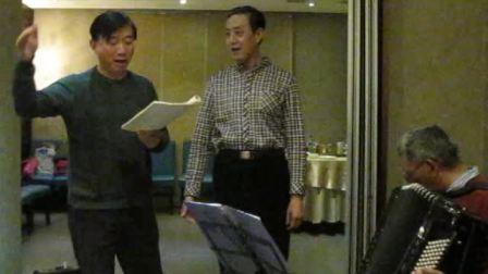 21、吴自强老师与靳建军合作《我爱祖国的蓝天》
