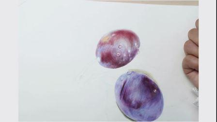 简笔画入门 少儿美术培训 亲子互动 西梅6