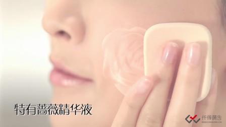 仟得广告影视制作案例:韩芬娜蔷薇柔白湿粉产品广告