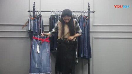 杭州四季青尾货折扣女装批发(牛仔裤系列) 35件一份1100元不包邮