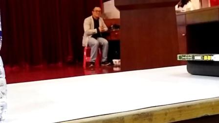 江门市福泉奥林匹克学校百日誓师大会教师代表