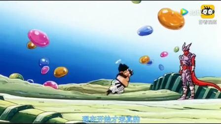 七龙珠: 界王: 我感觉我好难过,悟空贝吉塔合体后毅然挑战邪念波