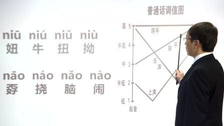 陈志刚普通话训练宝典n的发音要领和练习