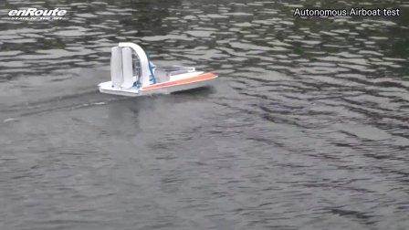 洋马委托enRoute公司制作的风动船