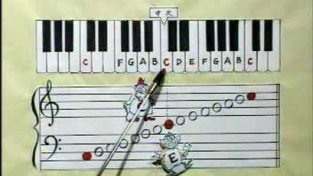 大人小孩都适用的钢琴教学视频 钢琴初级教程