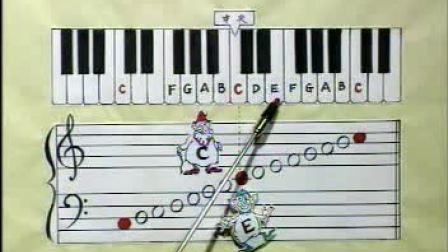 大人小孩都适用的钢琴教学视频 钢琴初级教程 钢琴教学视频全套完整版