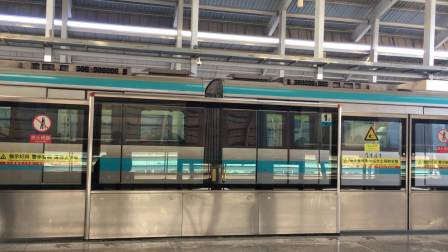 天津地铁3号线(南站方向)314车组--高新区进出站
