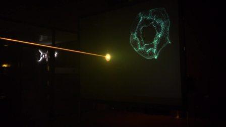 激光与LED屏幕互动