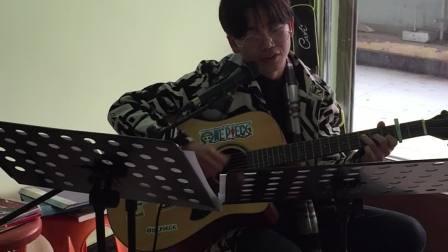 新沟镇 99琴行 袁进鑫 吉他弹唱 陈粒 光  新沟镇阳光步行街二楼