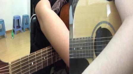 海棉宝宝 吉他弹唱(男女通用版含教学)李雪吉他音乐