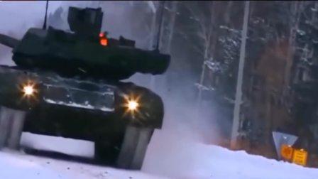 俄罗斯Танк «Армата» T14阿玛塔坦克来了,但是还是看着不够未来味儿!