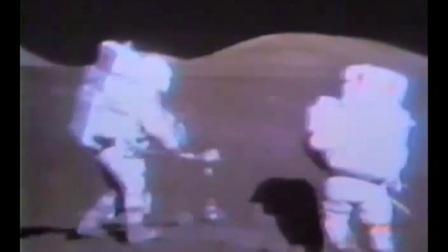 阿波罗17号月球表面出舱录像