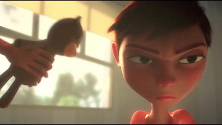 """CG3D动画短片:""""房间里的大象"""""""