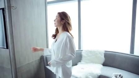 春季丝绸睡衣女夏长袖冰丝性感日式和服宽松开衫真丝家居服套装