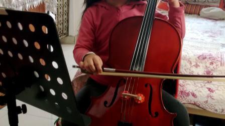 咪咪小盆友大提琴练习曲《很久很久以前》