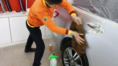 汽车美容抛光、镀膜视频(汽车美容培训)
