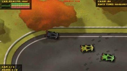 【ゞea高手】赛车小游戏暴力竞速赛车2 这车速实在是太快了