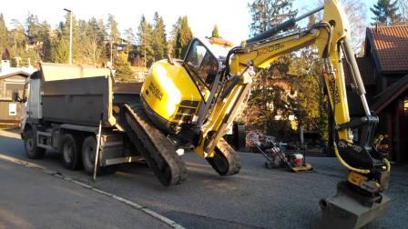 威克诺森Wacker Neuson 6003 挖机