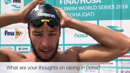 1500米自由泳冠军参加10公里马拉松游泳!