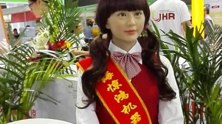 上海惊鸿机器人展会仿真迎宾