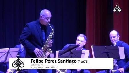 J.Valerio -Exoesqueleto by F. P.Santiago