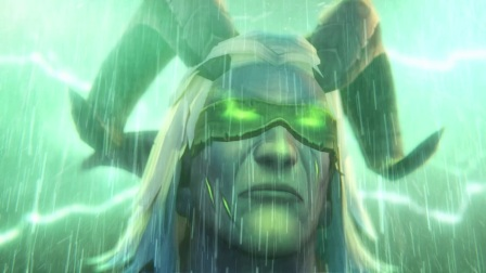 [魔兽世界超酷机械电影] 恶魔猎手——史诗级特效
