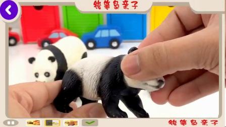 学习颜色和数字汽车. 儿童动物园和农场动物的颜色和数字视频