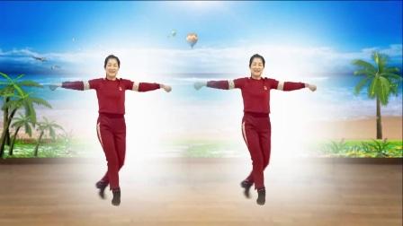 红领巾金社广场舞《拥抱你离去》编舞:惠汝