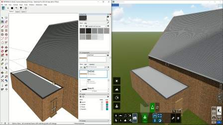 LiveSync_ SketchUp - Materials Synchronization