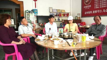 """青年山歌手""""符克文""""给原儋州市教育局局长'符龙敏'唱4首祝贺山歌(文全视频)"""