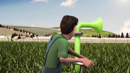 老外的农业灌溉水压实时监控系统,手机和农业生产