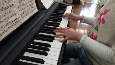 赛雯电钢琴弹奏《车尔尼599第38首》