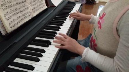 赛雯电钢琴弹奏《分解琶音练习》