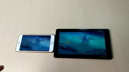 酷比魔方X1大屏高清影视对决苹果7plus 画面秒杀