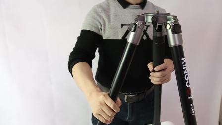 K4007摄影 摄像机大架子 数码相机铝合金三脚支架