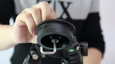 K5208摄像碳纤维支架 大管径高承重三脚架 单反相机三脚架