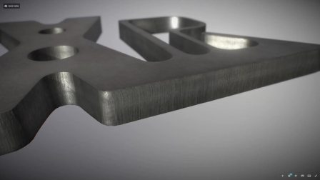海宝X-Definition切割样件_低碳钢