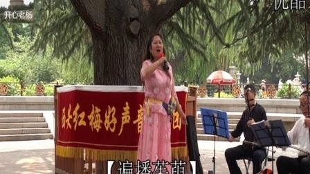 2-西安兴庆宫红梅好声音演唱【遍播茱萸】王胖妮,电话13519112533